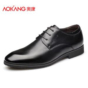 奥康男鞋大码英伦商务正装皮鞋男夏季潮低帮鞋真皮流行男鞋婚鞋子