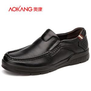 奥康男鞋 秋季新款男单鞋男士日常休闲舒适一脚蹬耐磨男单鞋