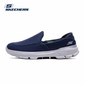 Skechers斯凯奇GO WALK 3男款休闲健步鞋 懒人一脚套运动鞋正品s