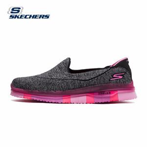 Skechers斯凯奇春夏新款女运动健步鞋 轻便缓震懒人蹬一脚套s