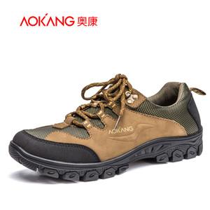 奥康男鞋 真皮轻便舒适运动户外休闲鞋青年男士外出潮流鞋子
