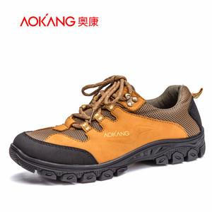 奥康男鞋 新款真皮轻便舒适运动户外休闲鞋青年男士外出潮流鞋子