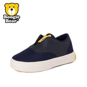 Boogiebear童鞋男童休闲鞋春秋儿童帆布鞋宝宝单鞋女童鞋子板鞋夏