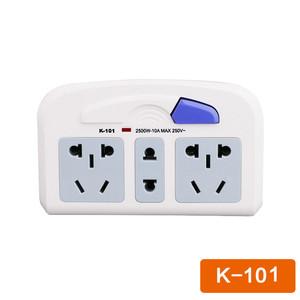 泰力K101系列电源插座插座 智能家居转换器 转插座排插接线板【3C】