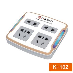 泰力K102系列插座 智能家居  电源插座转换器 转插座排插接线板【3C数码】