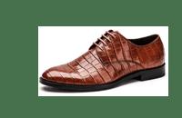 奥康男鞋 新款系带英伦商务正装皮鞋男潮鞋舒适软底真皮德比鞋子