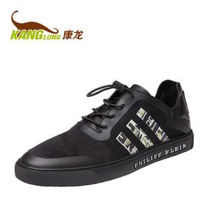 【门店发货】康龙百搭潮鞋男士休闲鞋时尚运动板鞋韩版潮流男鞋子