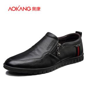 【门店发货】奥康官网 奥康男鞋 新款商务休闲鞋青年男士潮鞋皮鞋