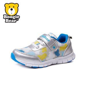 boogiebear童鞋儿童运动鞋女童跑步鞋春秋款男童网鞋秋季新款鞋子宝宝休闲鞋