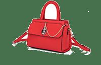 奥康女包 香水系列新款女士手提包单肩斜挎包包别致香水抽带锁扣