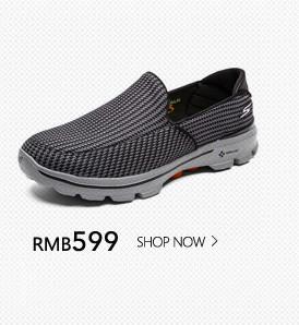 Skechers斯凯奇Go Walk3男鞋 超轻运动套脚鞋 休闲健步鞋