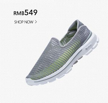 Skechers斯凯奇GO WALK 3网面健步鞋 男款低帮懒人运动鞋