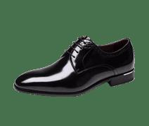 奥康男鞋新款商务正装皮鞋男士英伦风尖头时尚潮流行大码真皮鞋子