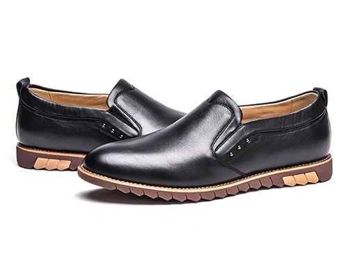 时尚男士低帮皮鞋