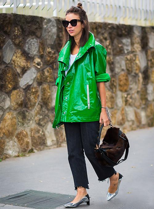 低跟鞋时尚潮流