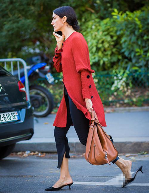 皮鞋时尚资讯:低跟鞋时尚
