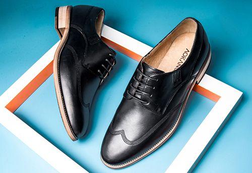天然皮革类皮鞋