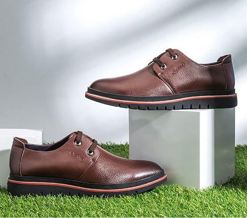 人工合成革皮鞋