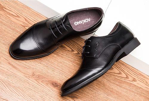 奥康皮鞋保养