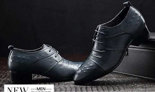 增高休闲皮鞋