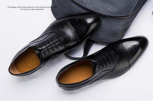 正装皮鞋之首牛津鞋