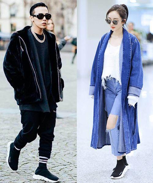 时尚资讯:权志龙杨幂暮光女最近都爱穿小黑鞋