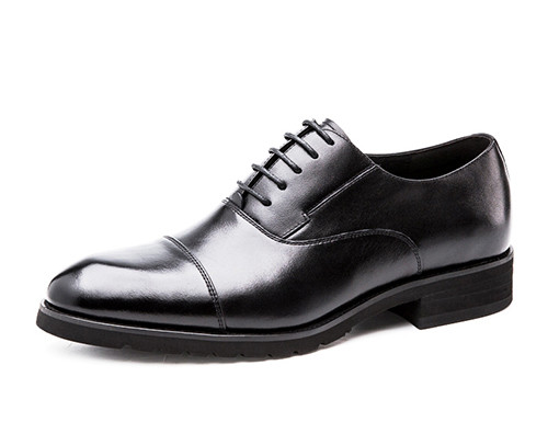 牛皮商务皮鞋