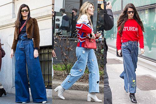皮鞋时尚资讯:流行的牛仔裤