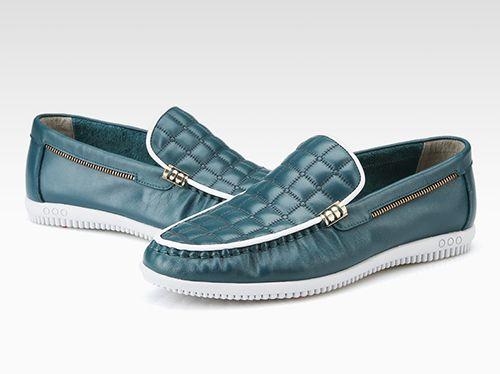 奥康皮鞋专卖店乐福鞋搭配