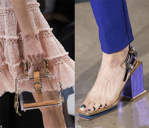 皮鞋资讯:透明材质