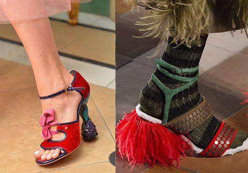 皮鞋资讯:设计独特的高跟鞋鞋跟