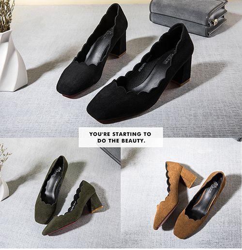 时尚资讯:春夏粗跟鞋推荐