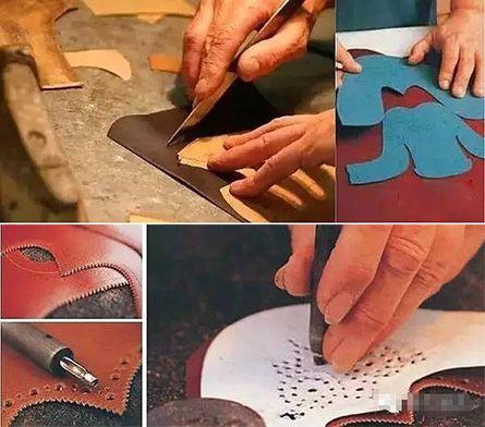 皮鞋制作步骤五