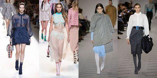 时尚资讯:春夏、秋冬秀场上的袜靴