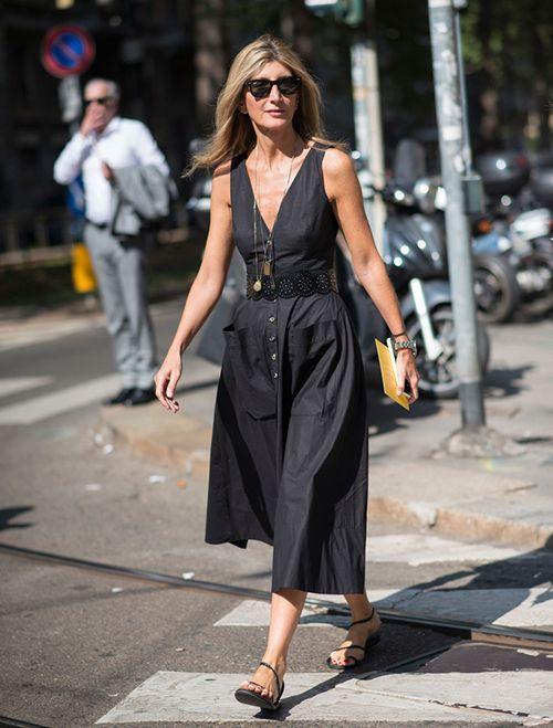 时尚资讯:夏天小个子女生怎么穿连衣裙+平底鞋