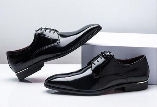真皮正装皮鞋材质
