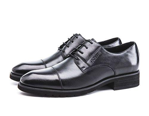 常见的正装皮鞋鞋面样式