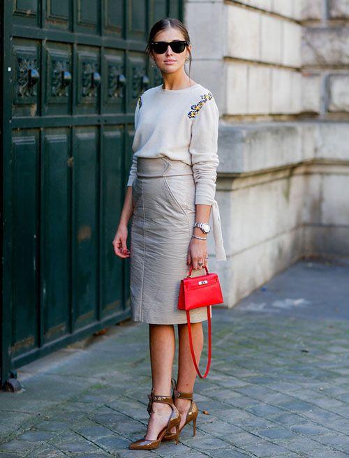 时尚资讯:穿半身裙的错误示范