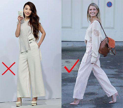 时尚资讯:阔腿裤搭配