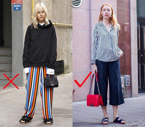 时尚资讯:不能搭配阔腿裤的鞋子
