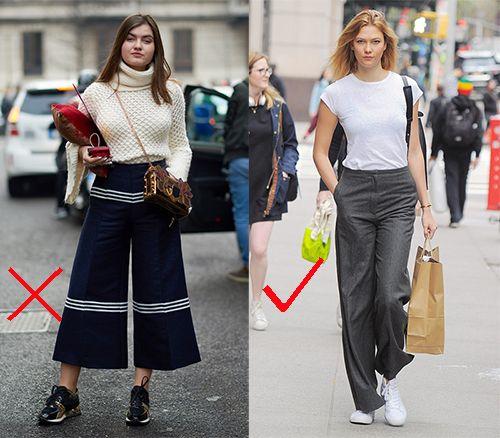 时尚资讯:阔腿裤搭配什么鞋子