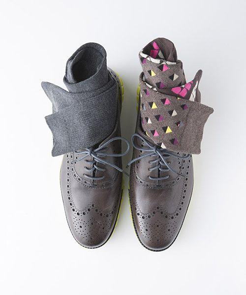 皮鞋搭配袜子的原则