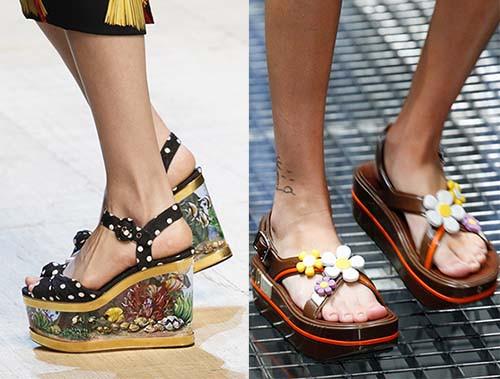 皮鞋时尚资讯:厚底鞋重新流行