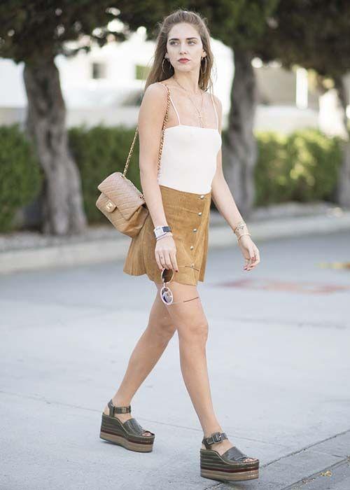 皮鞋时尚资讯:厚底鞋