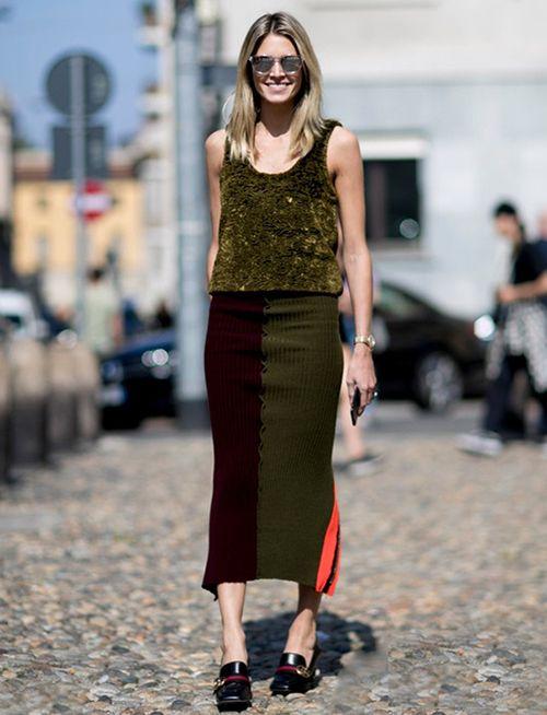 时尚资讯:吊带装显瘦穿法