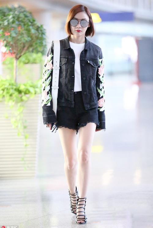 皮鞋资讯:袁姗姗的罗马鞋
